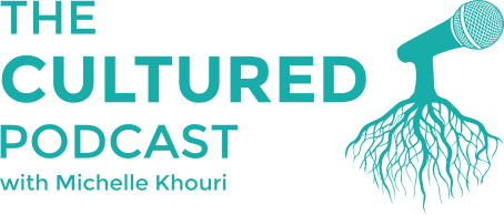 The Cultured Podcast Logo