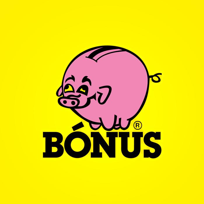 Bonus logo Iceland supermarket