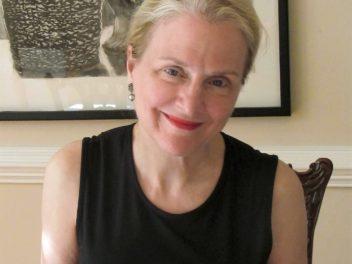 Elyse Defoor. Photo by Brigit McQueen. Artwork by Rodney Granger.