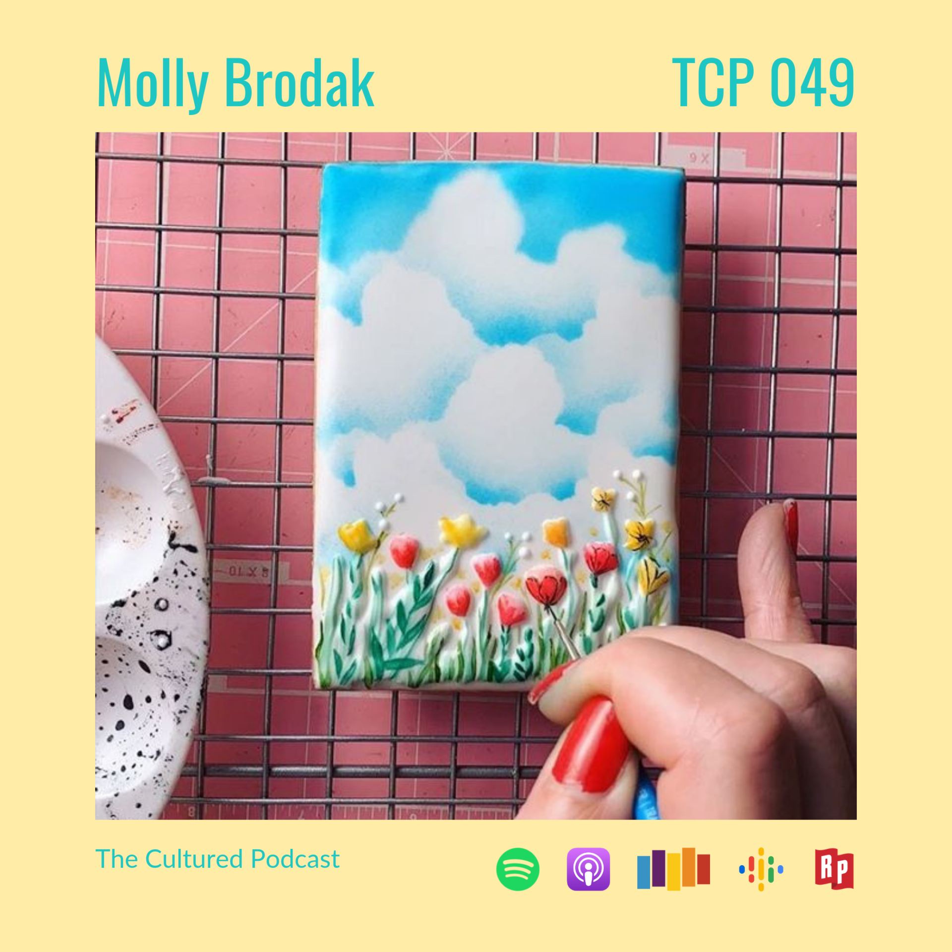 On this episode of The Cultured Podcast, Molly Brodak takes her artistic talent into the kitchen with intricately designed baked goods that appear almost too beautiful to eat...but don't dare tell her that.