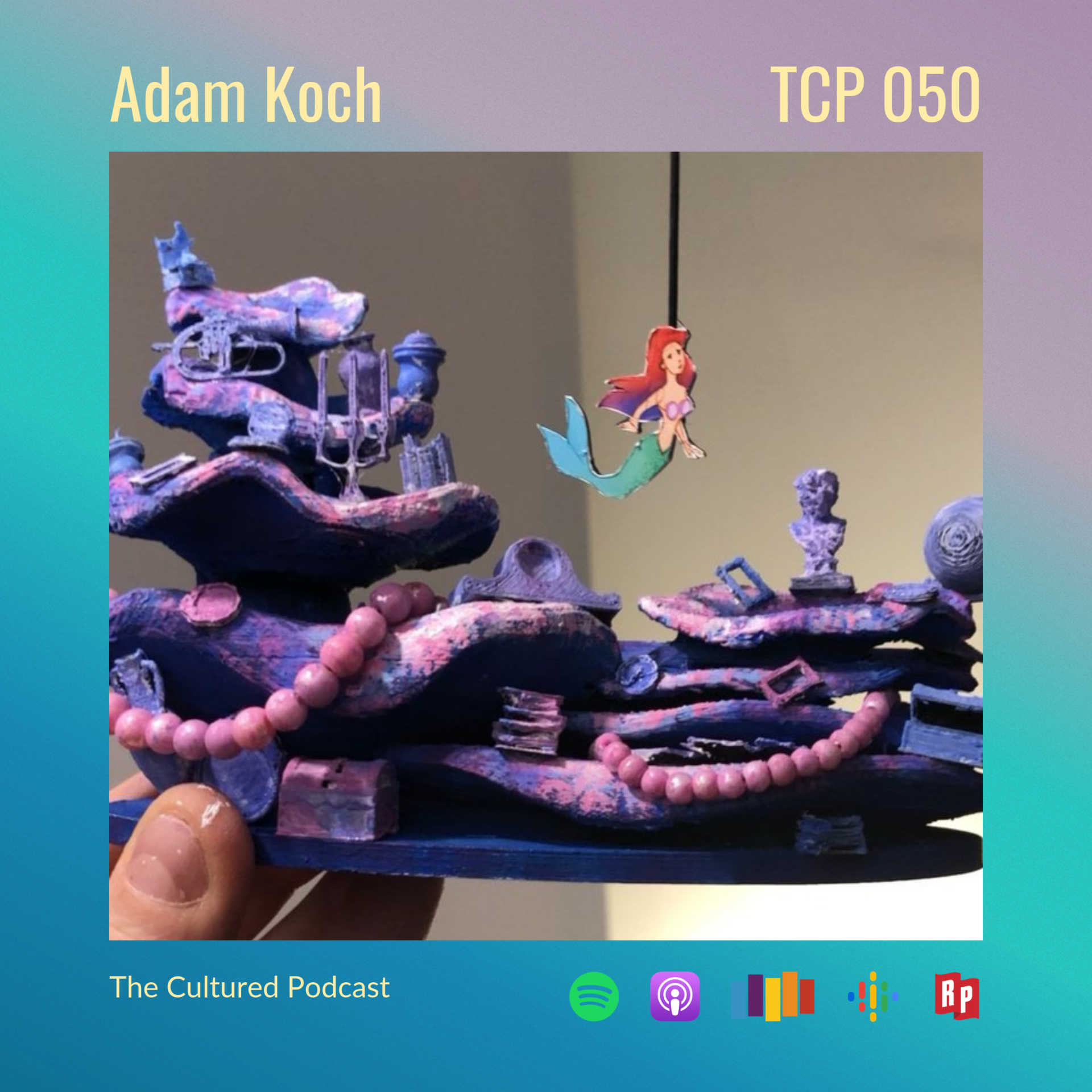 On this episode of The Cultured Podcast we meet Adam Koch, who does more than design beautiful sets - he builds one-of-a-kind theatrical experiences that immerse wide-eyed audiences into other worlds.