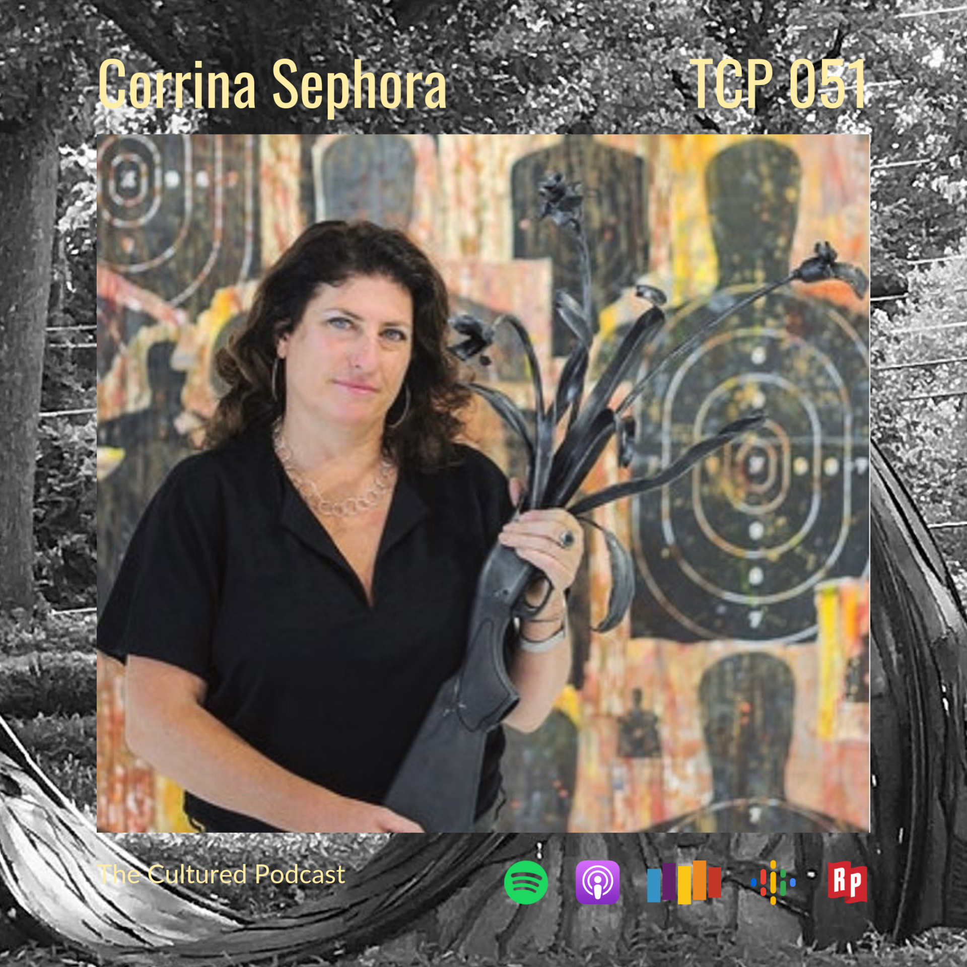 Listen to this episode of The Cultured Podcast as Corrina connects the dots from a childhood living off the land with her father to a thriving career in art.